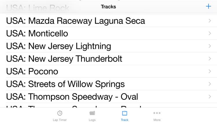 iLapTimer - Motorsport GPS Lap timer & Data Logger screenshot-4