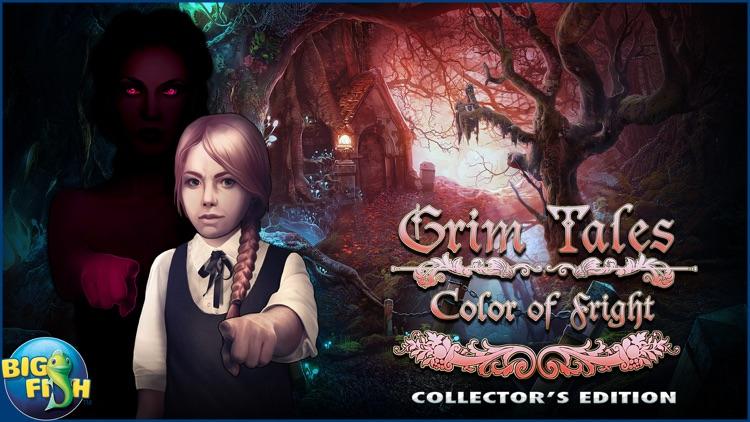 Grim Tales: Color of Fright - A Hidden Object Thriller screenshot-4
