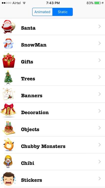 Christmas Emoji + Animated Emojis