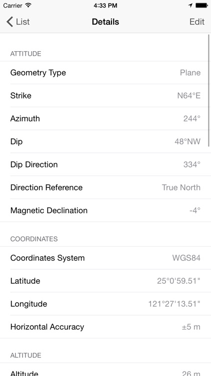 GeoCompass 2 - Geologist's Compass screenshot-3