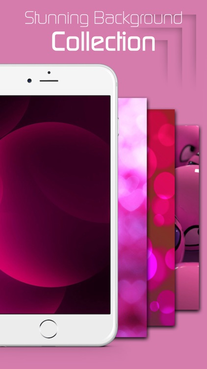 Dynamic Live Pink Wallpapers & Backgrounds HD PRO for Live Photos & Lock Screen Themes