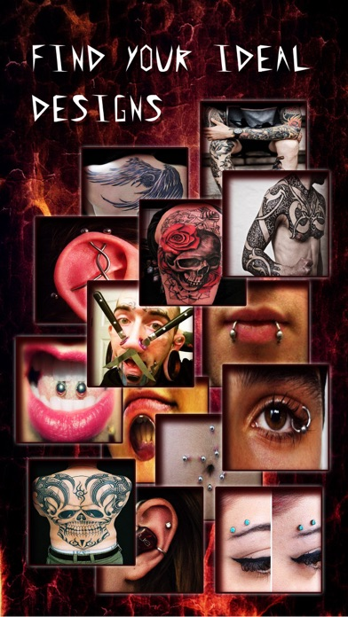 download Piercing & Tattoo Catalog Pro - Yr Design Ideas of Body Art Inked or Pierced apps 2