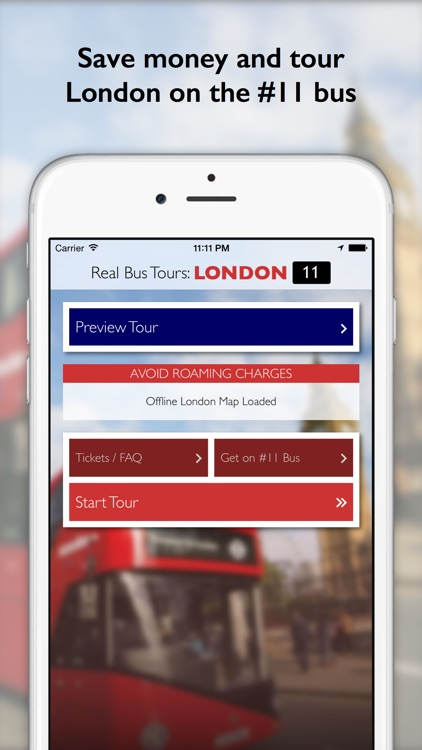 London Real Bus Tour - #11 Route