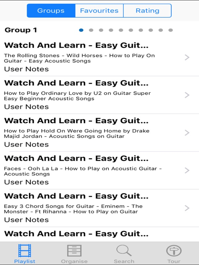 Watch And Learn Easy Guitar Songs On The App Store