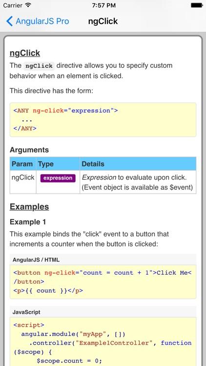 AngularJS Pro FREE screenshot-3