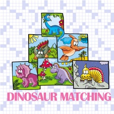 Activities of Dinosaur Matching Picture Games
