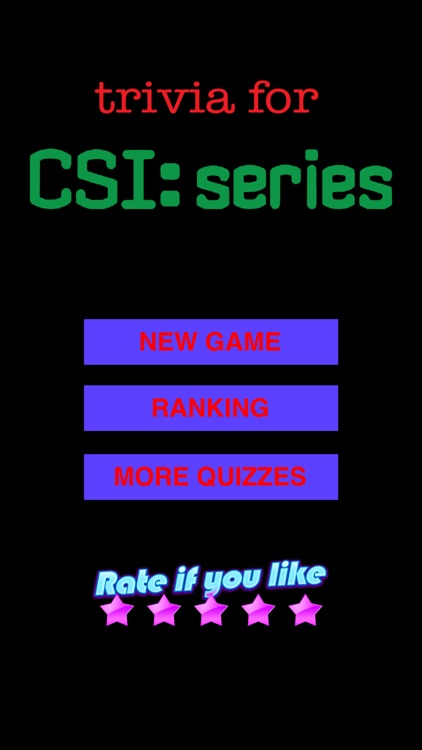 Trivia for CSI a fan quiz with questions and answers
