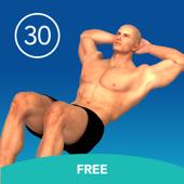 Men's Ab Crunch 30 Day Challenge FREE