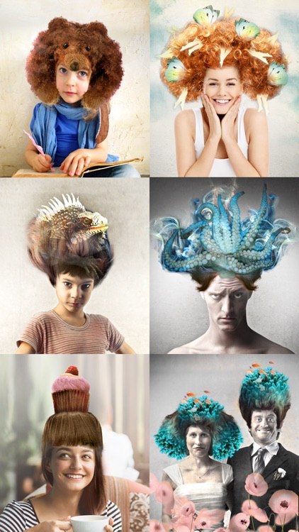 Surreal wigs Pro – Creative hairstyles to edit your photos screenshot-0