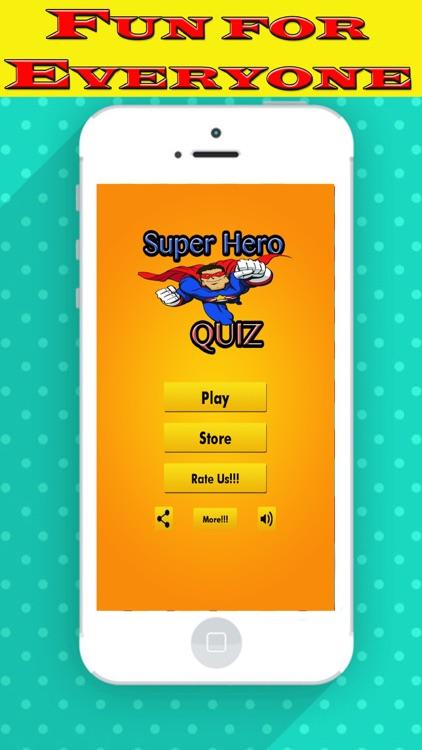 Super Hero Edition Photo Quiz