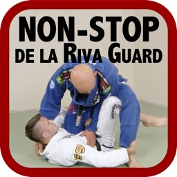 Non-Stop de la Riva Guard - Attacks, Sweeps & Submissions for BJJ by Brandon Mullins & Stephan Kesting