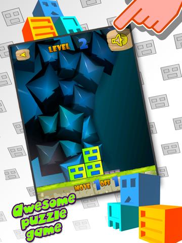 Geometry Cube Crash: Move and Swipe