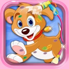 Activities of New Born Baby Pet Escape