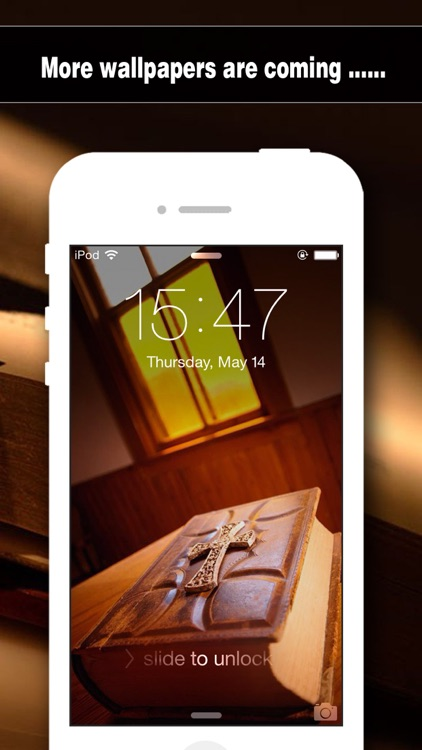 Bible Wallpapers HD - Backgrounds & Lock Screen Maker with Holy Retina Themes for iOS8 & iPhone6 screenshot-4