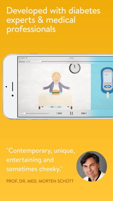 Screenshot #2 pour mySugr Diabetes Training: 10 Fun Type 2 Academy Video Tips for Diabetics