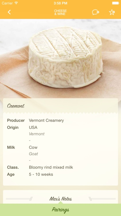 Max McCalman's Cheese & Wine Pairing App screenshot-3