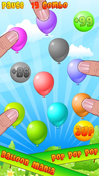 Screenshot #1 pour Balloon Mania - Pop Pop Pop