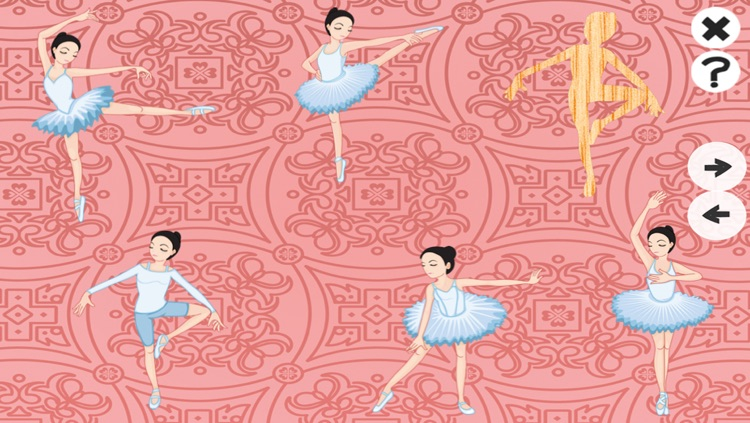 A Ballet Game for Girls: Learn like a ballerina for kindergarten or pre-school screenshot-4
