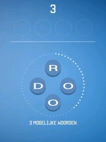 Vier Letters - Raad het Woord iPad app afbeelding 2