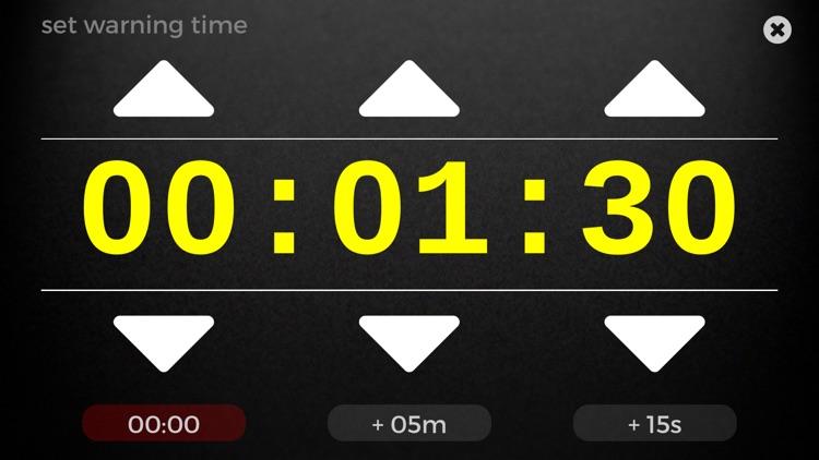 Speech Timer for Talks and Presentations (Full Version) screenshot-3
