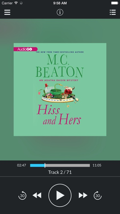 Hiss and Hers (by M. C. Beaton) (UNABRIDGED AUDIOBOOK)