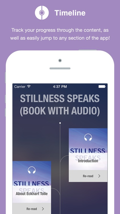 Stillness Speaks (book with audio)