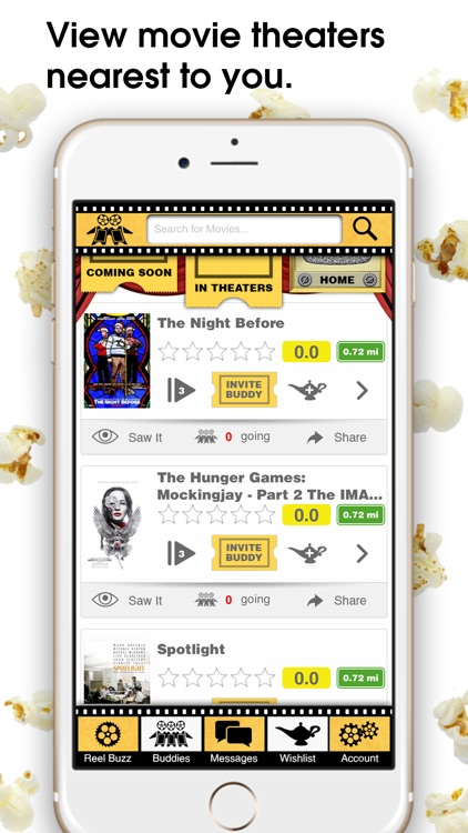 Reel Buddy - See Showtimes, Buy Movie Tickets, and Find Movie Friends