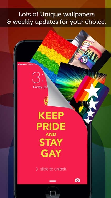 Gay Pride Wallpapers HD for iOS 8, iPhone, iPod and iPad screenshot-4