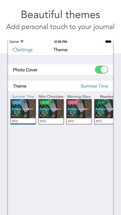 Loop Journal: Q&A a day shows your changes screenshot-3