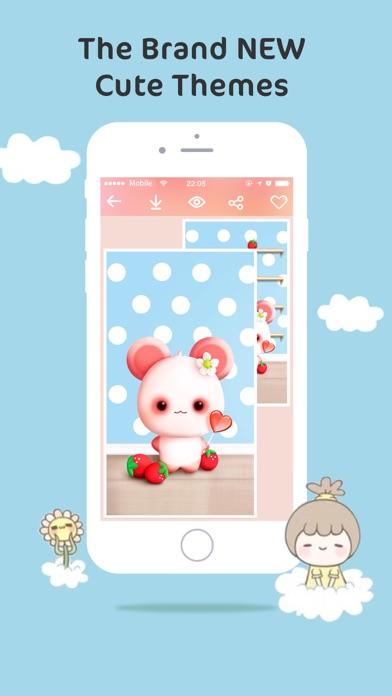 Cute Themes & Wallpapers