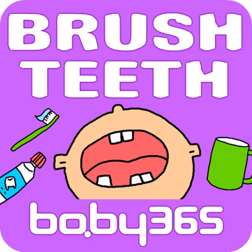 Brush teeth-baby365 icon