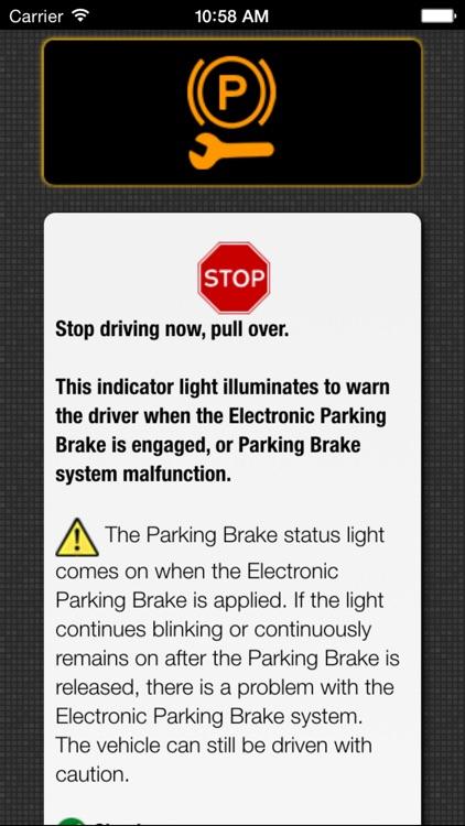App for Chrysler Cars with Chrysler Warning Lights screenshot-3