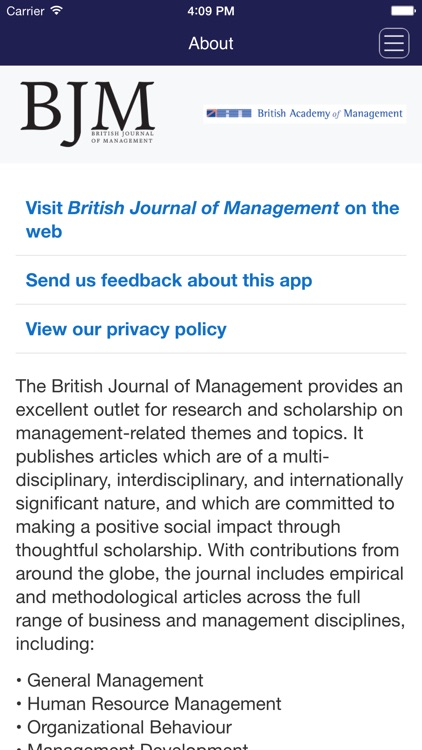 British Journal of Management