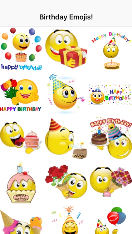 Birthday Emojis screenshot-1