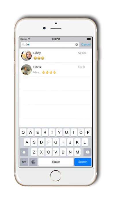 Passcode for Facebook Messenger- Best app to hide screenshot three