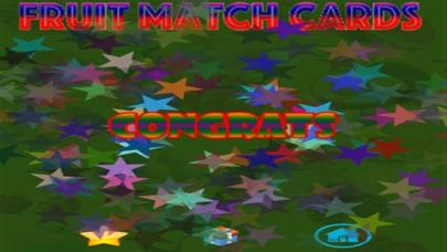 Ninu's Fruit Match Card Game for Kids screenshot two