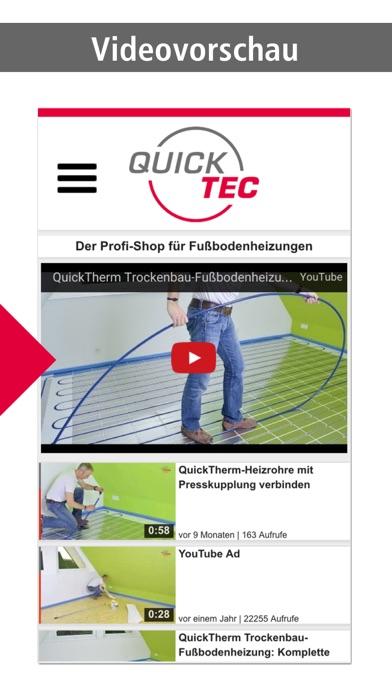 QuickTecScreenshot von 2