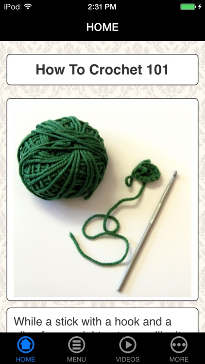 How To Crochet 101 - New Beginner's Guide