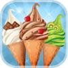 冰淇淋 - 免费游戏 - 与主机香料和配料的制作自己的甜蜜雪糕筒!