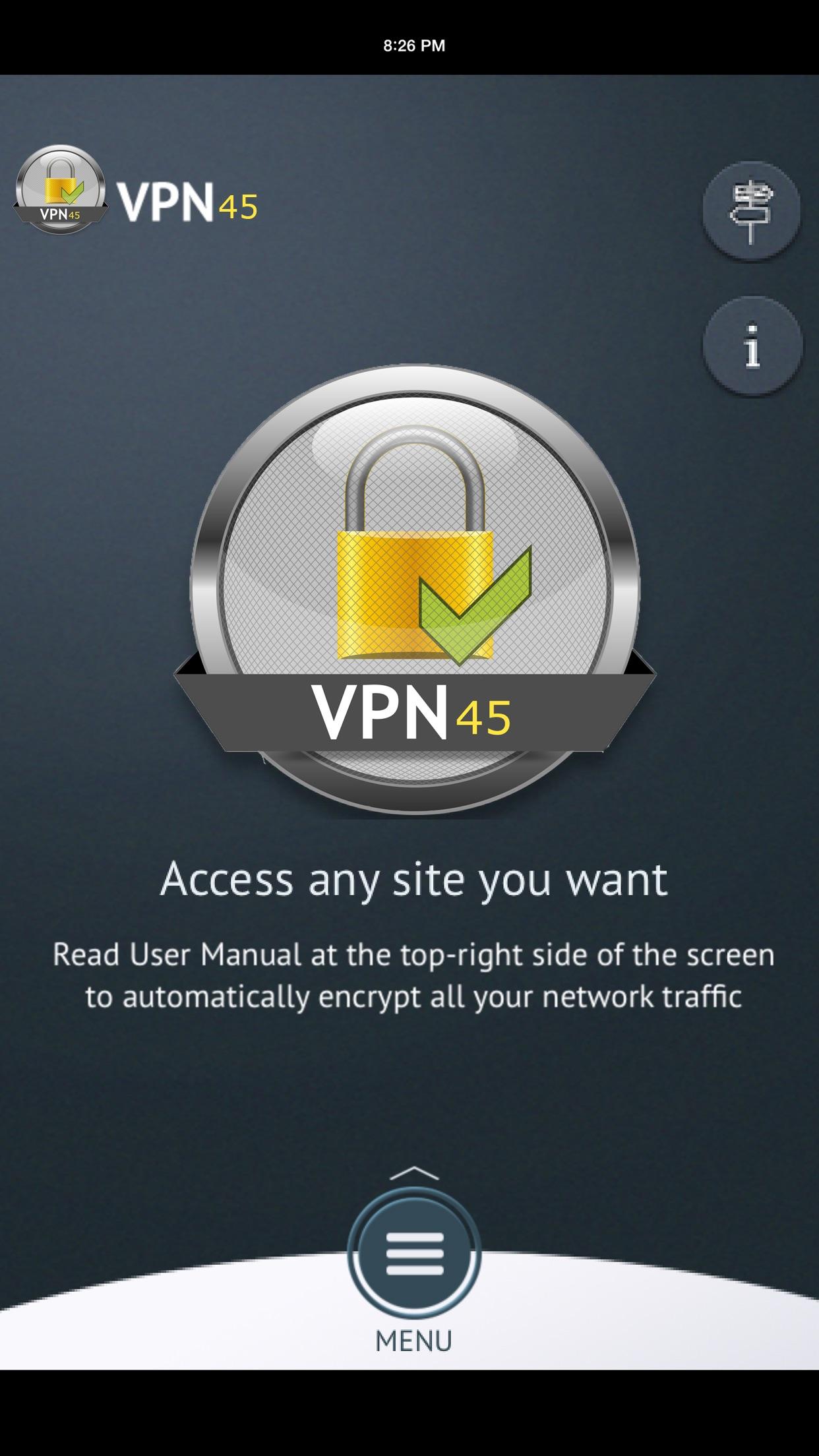 VPN45 Screenshot