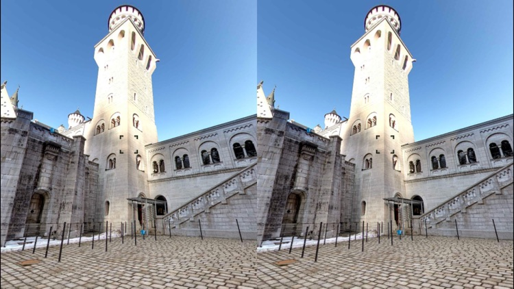 VR Virtual Reality Neuschwanstein Castle Tour