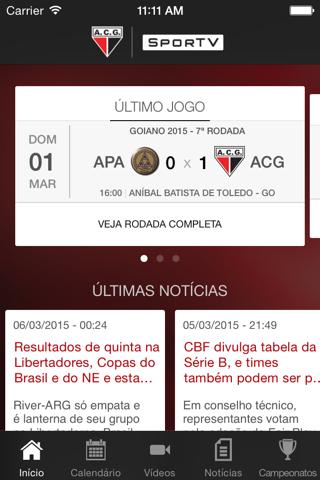 Atlético-GO  SporTV screenshot 3