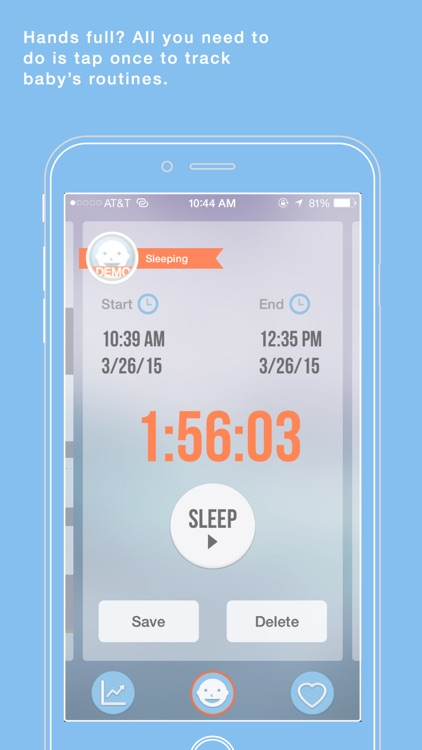 Babio - Baby Activity Tracker & Reminder, Simplified screenshot-3