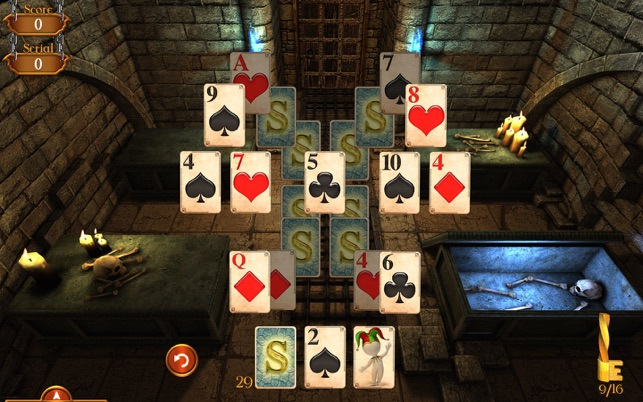 ‎Solitaire Dungeon Escape Screenshot
