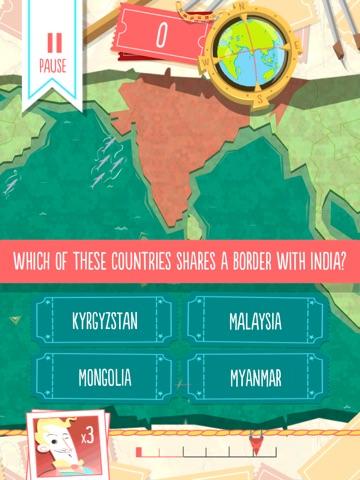 Скачать Worldly - Countries Quiz!