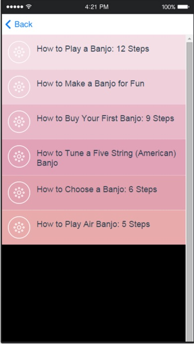 Banjo Lessons - Tips to Become a Better Banjo Player screenshot two
