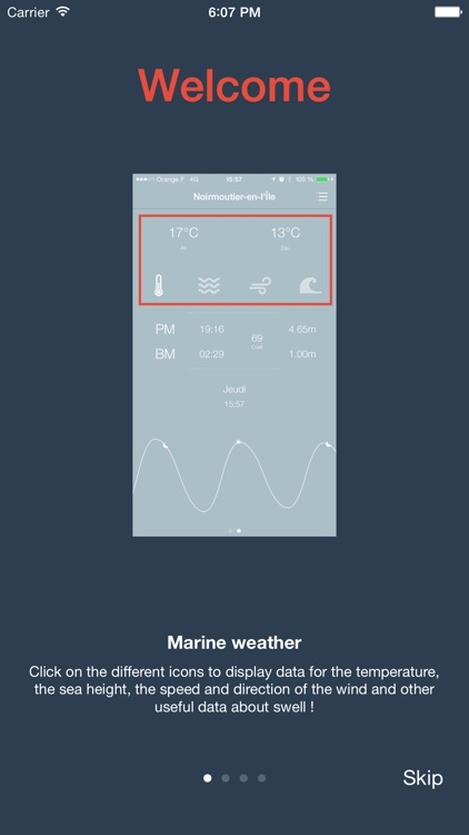 Crab - Marine weather, tide times and precise marine forecasts screenshot-3