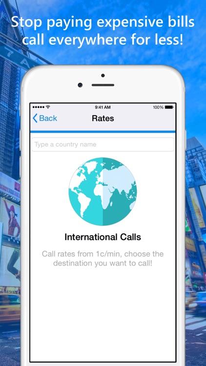 Mobu - International Calls App screenshot-4