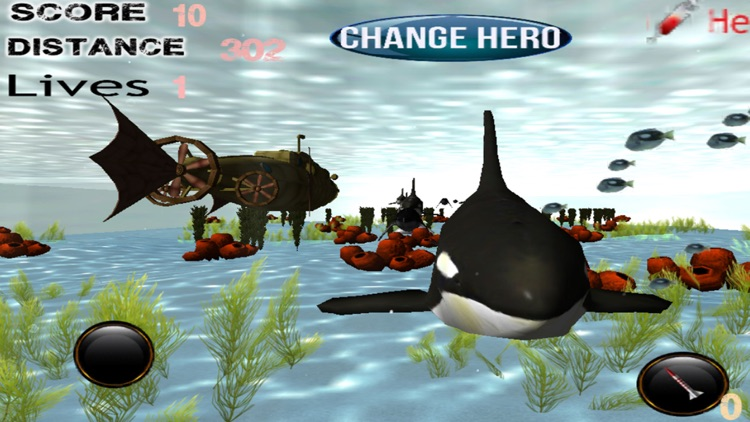 Killer Whale Deep Sea Hunter - A Sunken U-Boat Planet Terror Navy Attacker screenshot-3