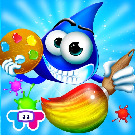 Color Drops - Children's Animated Draw & Paint Game HD! icon